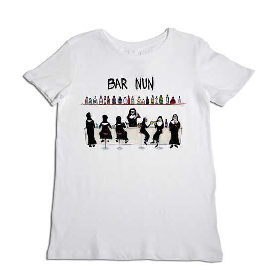 Bar Nun Graphic Tee