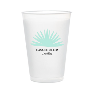 Customizable Casa Cups