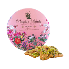 Load image into Gallery viewer, Pistachio Brittle Pink Tin