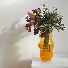 Load image into Gallery viewer, Saffron Muse Vase