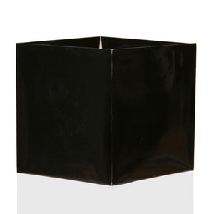 "Black 5.5"" FlowerBox Cube (Carton of 120)"