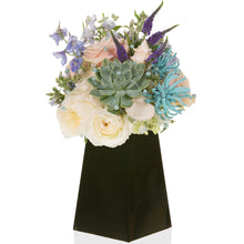 Load image into Gallery viewer, FlowerBox 8in Tall, Black