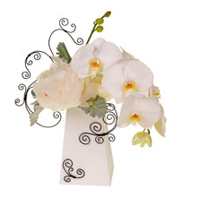 Load image into Gallery viewer, FlowerBox 8in Tall, White