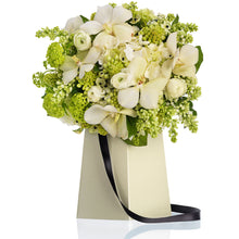 Load image into Gallery viewer, FlowerBox Grab & Go Cream Vase