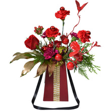 "Load image into Gallery viewer, Red Grab & Go 8"" Flowerbox Vase (Carton of 120)"