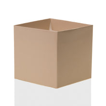 "Load image into Gallery viewer, Tan 4"" FlowerBox Vase (Carton of 120)"