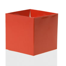 "Load image into Gallery viewer, Tangerine Tango 4"" FlowerBox Vase (Carton of 120)"