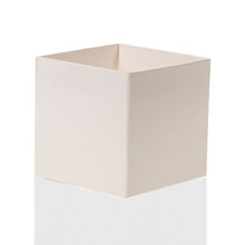 "Load image into Gallery viewer, White 4"" FlowerBox Vase (Carton of 120)"