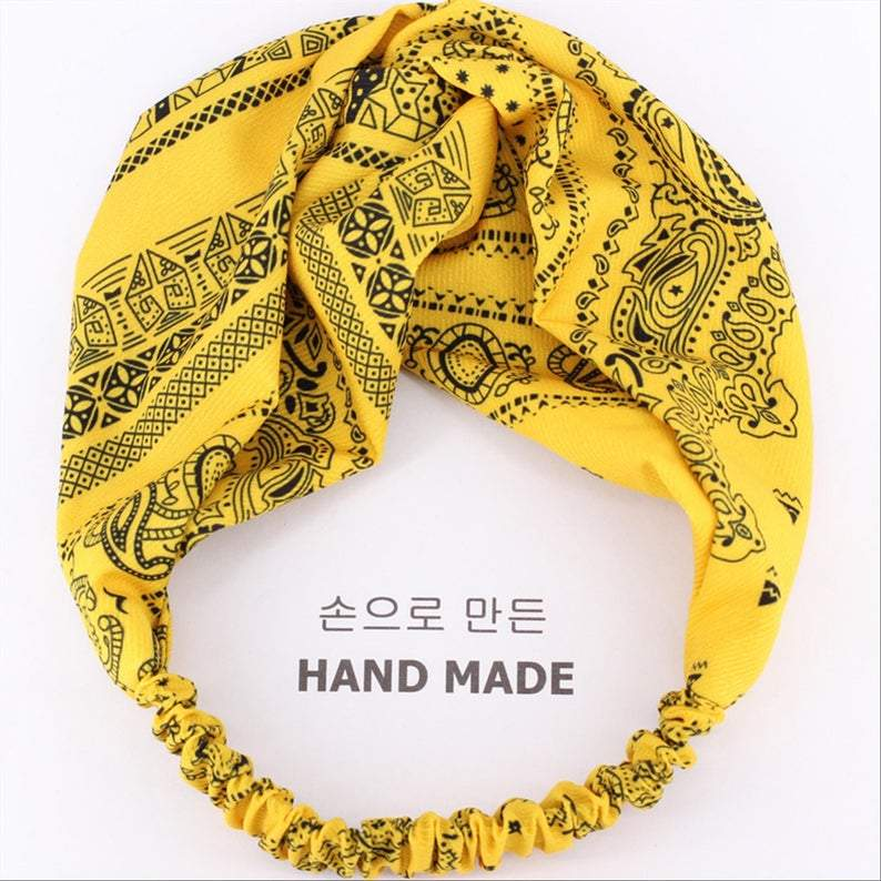 PAISLEY ( Yellow)