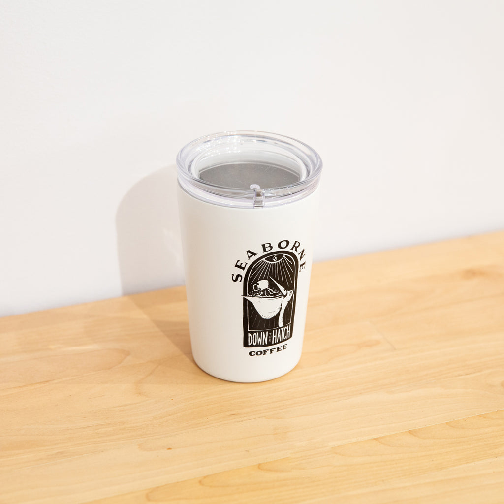 Down The Hatch Coffee Tumbler
