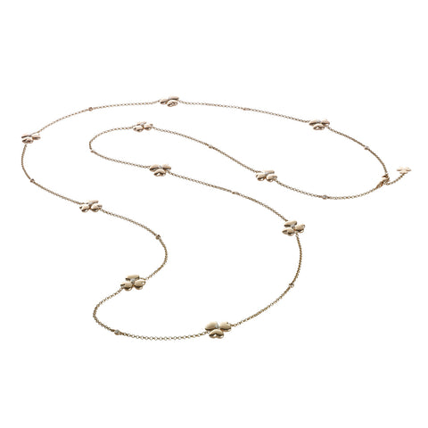 A long chain necklace