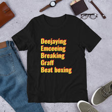 Load image into Gallery viewer, The 5 elements Short-Sleeve Unisex T-Shirt