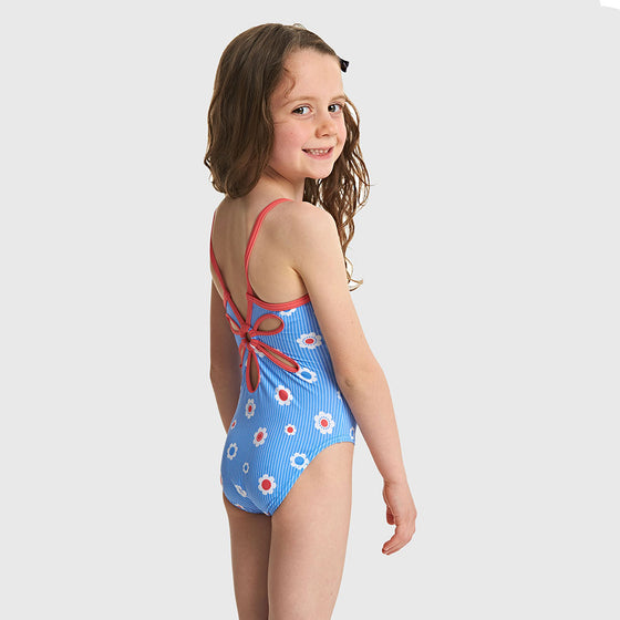 Zoggs Tots Girl's Holiday Yaroomba Swimsuit