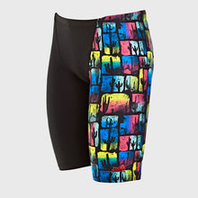 Zoggs Men's Arizona Jett Jammer Black/Multi Swim Short