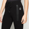 GymPro  Womens  Luxury Fitted Joggers - Black