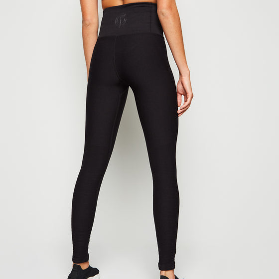 Gympro Rai Seamless Leggings - Black