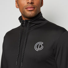 GymPro Performance tracksuit top - Black