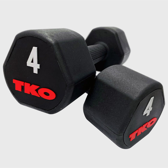 TKO Rubber Dumbbells ( Various Sizes)