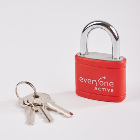 Everyone Active Key Padlock