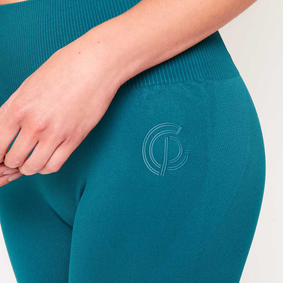 GymPro Lili Seamless Leggings - Teal