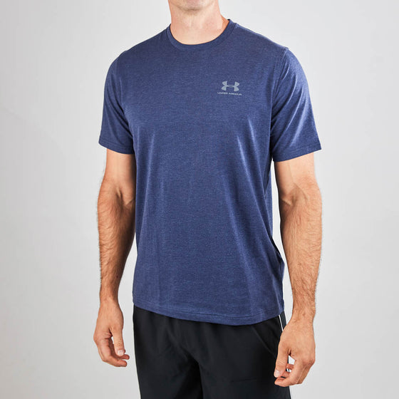 Men's Under Armour Tech Short Sleeve T Shirt - Navy