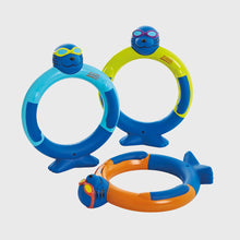 Zoggs Zoggy Dive Rings (3 Pack)