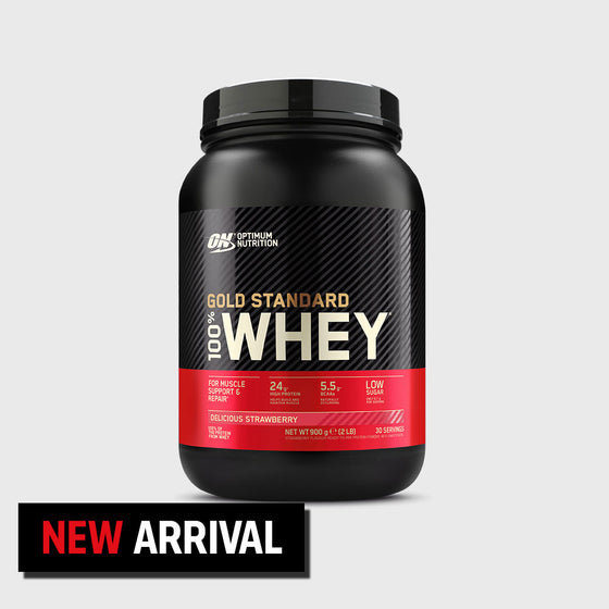 Gold Standard 100% Whey 900g Delicious Strawberry