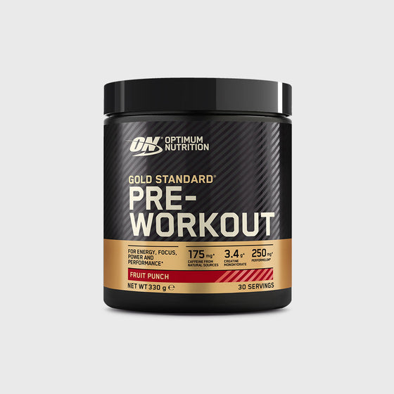 Gold Standard Pre-Workout 330g Fruit Punch