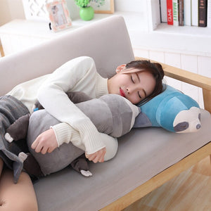 Cute Stuffed Sloth Pillow