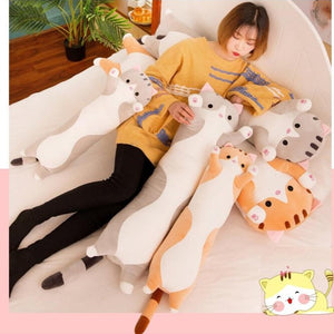 Long Cat Body Pillow
