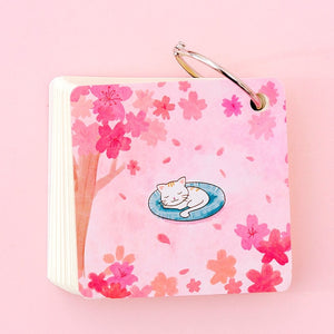 Cute Cat Ring Flashcard