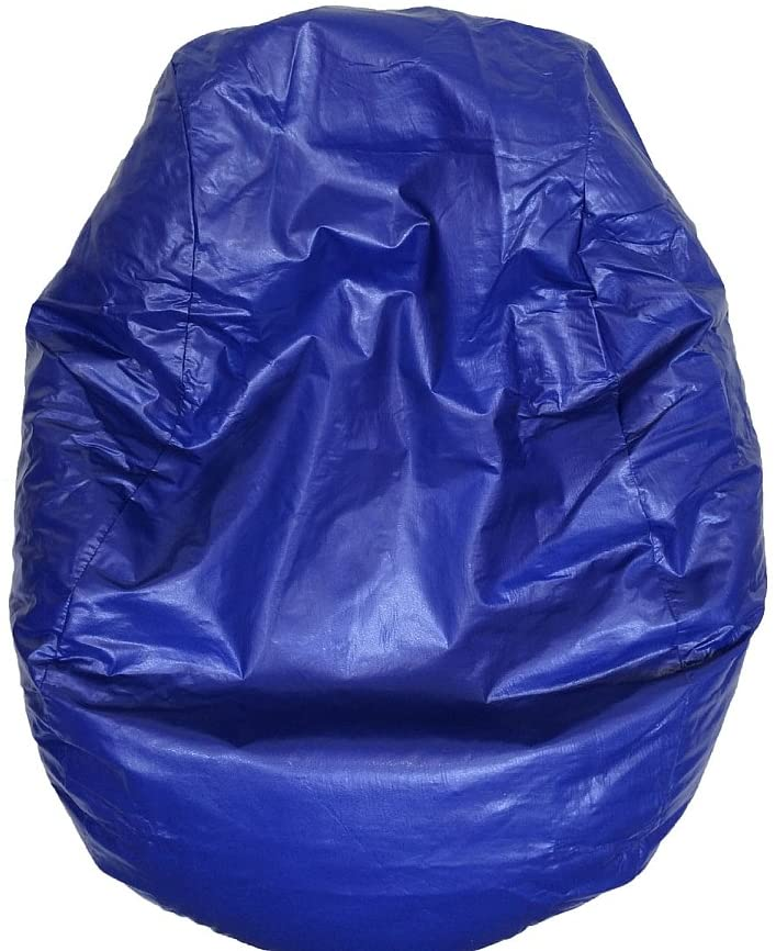 Boscoman - Adult Fun Teardrop Vinyl Beanbag Chair - (Mix Colors) - COVER ONLY