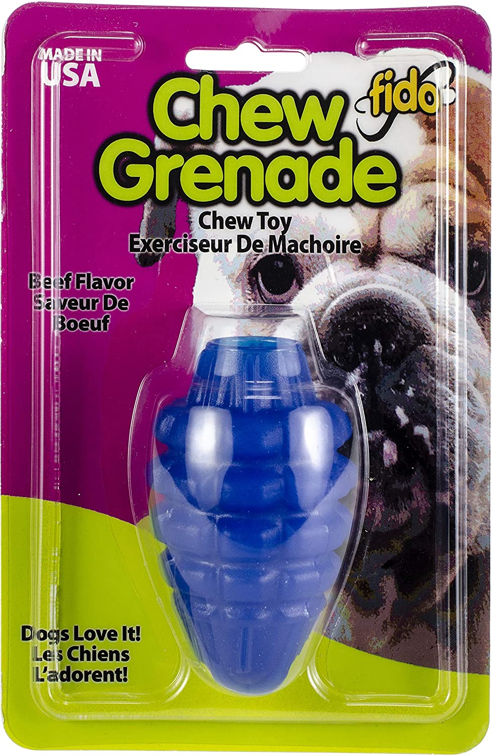 Fido Chew Grenade Small Dog Toy (2 Pack)