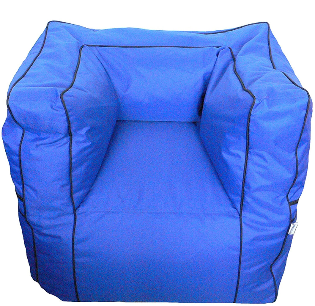 Boscoman - Jumbo Alemeda Outdoor Bean Bag Chair - (Mix Colors) - COVER ONLY