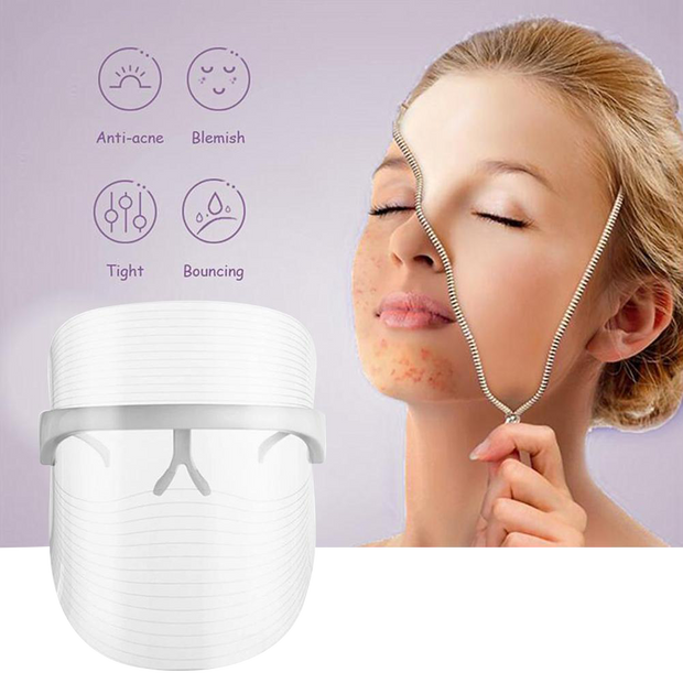 Facial Mask Wireless  Whitening Anti-aging Skin Tighten Photonic