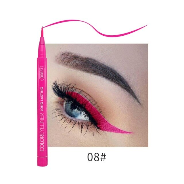 Hot 12 Color Eye Pencil Waterproof Eyeliner