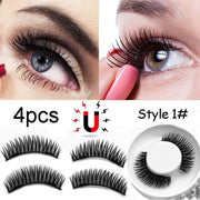 Magnetic Eyelashes Set Reusable Magnetic Lashes