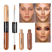 Waterproof Brightener Full Coverage Long Oil Control Professional Foundation Concealer