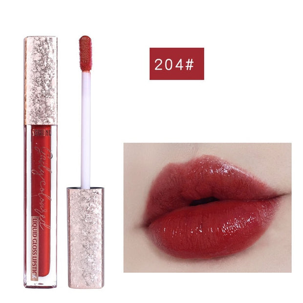 Moisturizing lip gloss waterproof long lasting liquid lipstick