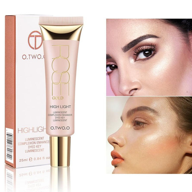 Shimmer Highlighter Cream Primer Base Contouring Concealer Oil Control