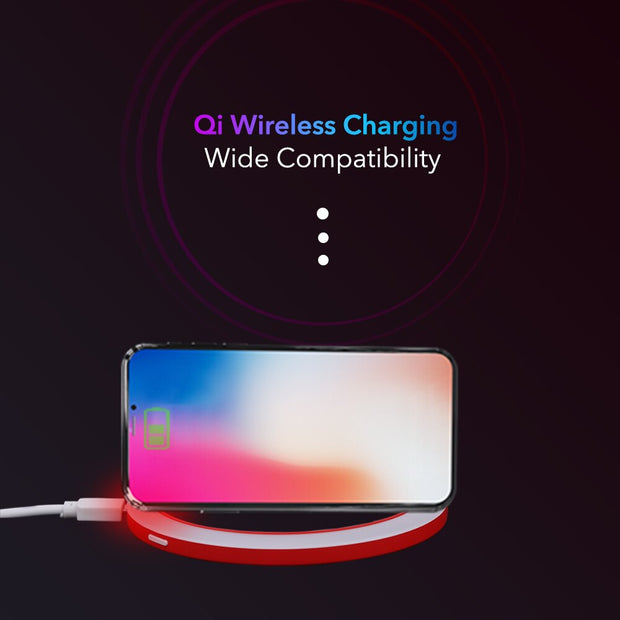 Adjustable Lighted Wireless Mirror USB Charging