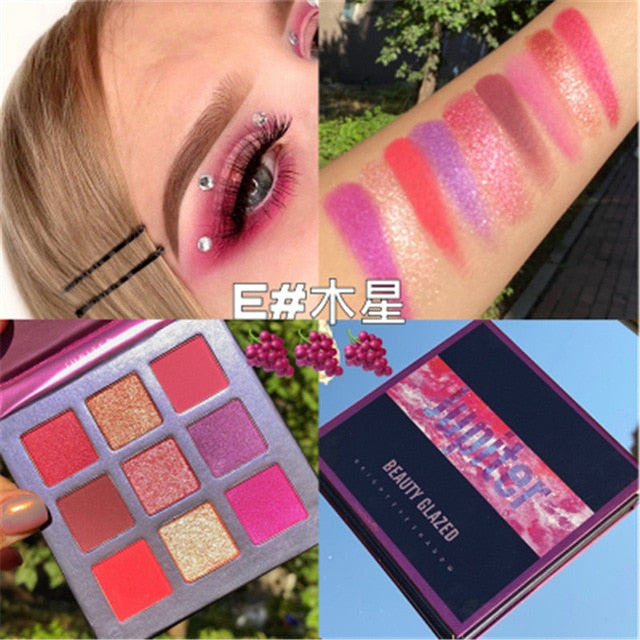 Diamond Makeup Palette Eyeshoadow