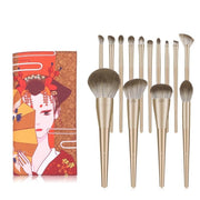 gold-makeup-brushes-set