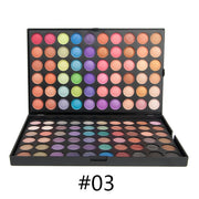120 Colors Matte palette of Eye shadows