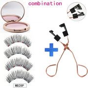 3D Magnetic Eyelashes Soft And Nature