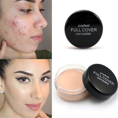Professional Full Coverage Flawless Makeup Texture Concealer Foundation 5 color choose