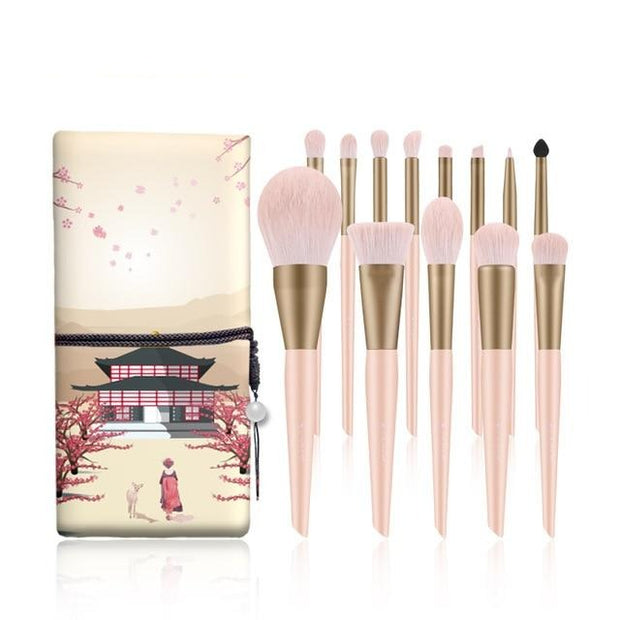 13 Piece Professional Makeup brushes Sets