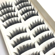 Lady  Natural Thick Eyelashes Handmade