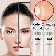 Brand Makeup Color Changing Foundation that Firms Skin
