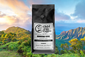100% Pure Hawaiian Kona Coffee - Greenwell Farms | Child Life Coffee
